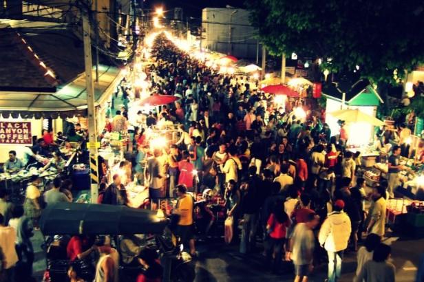 서울 야시장의 모습, 출처 뉴소보민 블로그
